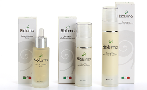 bioluma cosmetici bava di lumaca